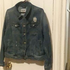 Women's Mossimo Jean Jacket size XXL.